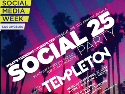 Social Media Week Los Angeles Reveals 2014 'Social 25′ Honorees