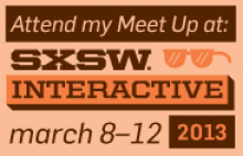 "Join SMW Founder & Executive Director Toby Daniels during SXSW for ""A Meetup for Collaborators"""